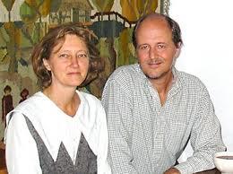 Jadwiga Łopata i sir Julian Rose, twórcy Międzynarodowej Koalicji dla Ochrony Polskiej Wsi