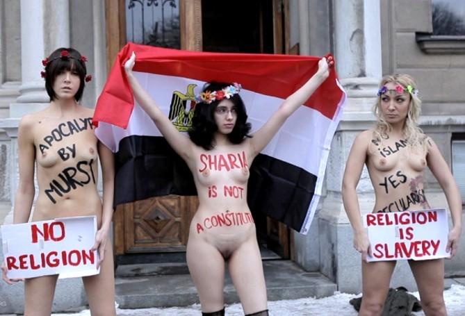 Francuzka pyta, kto finansuje Femen?