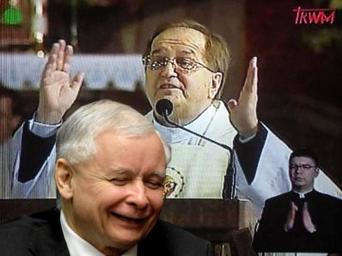Kamiński o dealu Kaczyńskiego z o.Rydzykiem