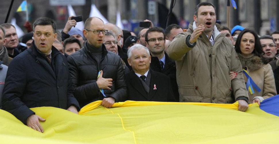 Konflikt ukraiński a sprawa polska. Polacy za Janukowyczem!