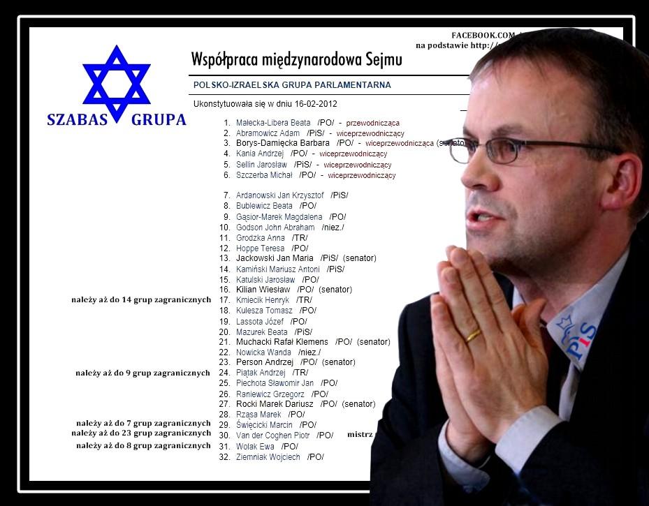Polscy i izraelscy parlamentarzyści wspólnie wyrażą sprzeciw wobec obciążania jakąkolwiek odpowiedzialnością Polski i Polaków za Holokaust !