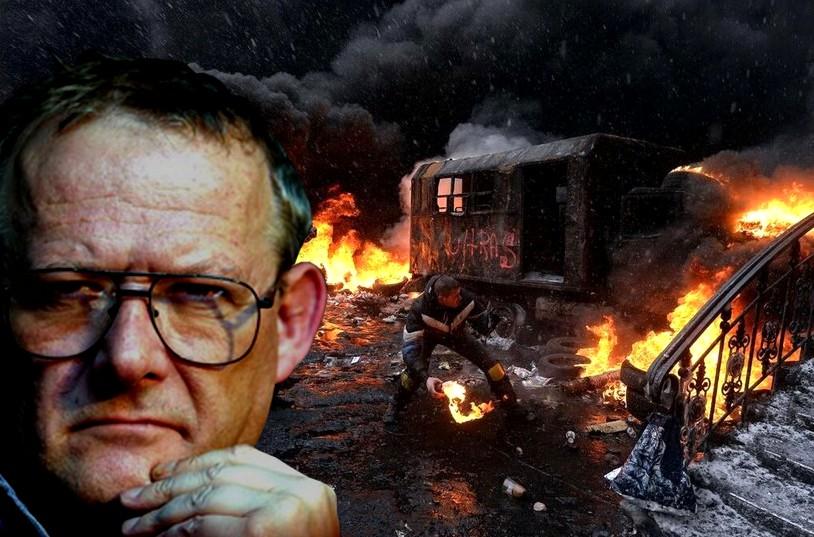 Hipokryzja – Michnik i Bauman wspierają rebelię w Kijowie !