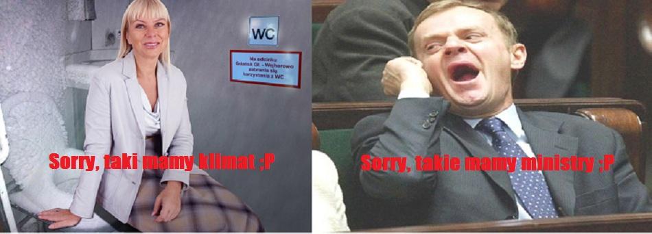 Nie masz fachowca nad ministrę z Sosnowca!