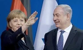 Ten wąsik, ach ten wąsik czyli Merkel i Netanyahu