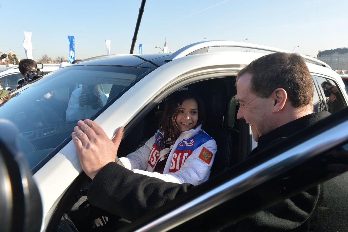 Mercedesy dla medalistów z Soczi