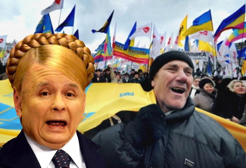 Wiec we Lwowie: odłączyć ukraińskie ziemie od Polski