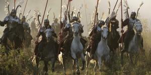 Battle scene from Vladimir Khotinenko's period drama 1612
