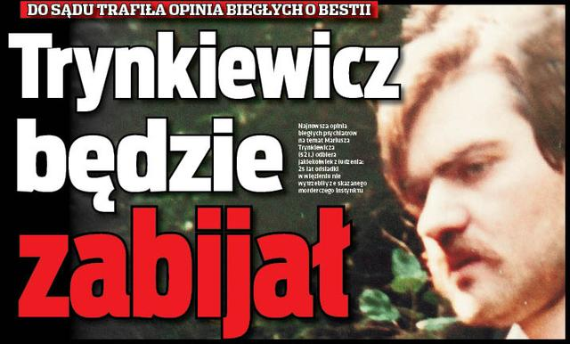 Trynkiewicz wariografem Michnika