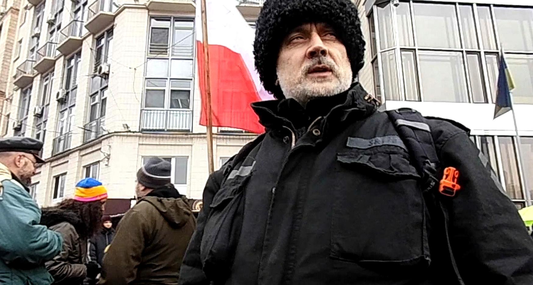 Za wolność naszą i waszą: na Majdanie z Czarnymi Kozakami