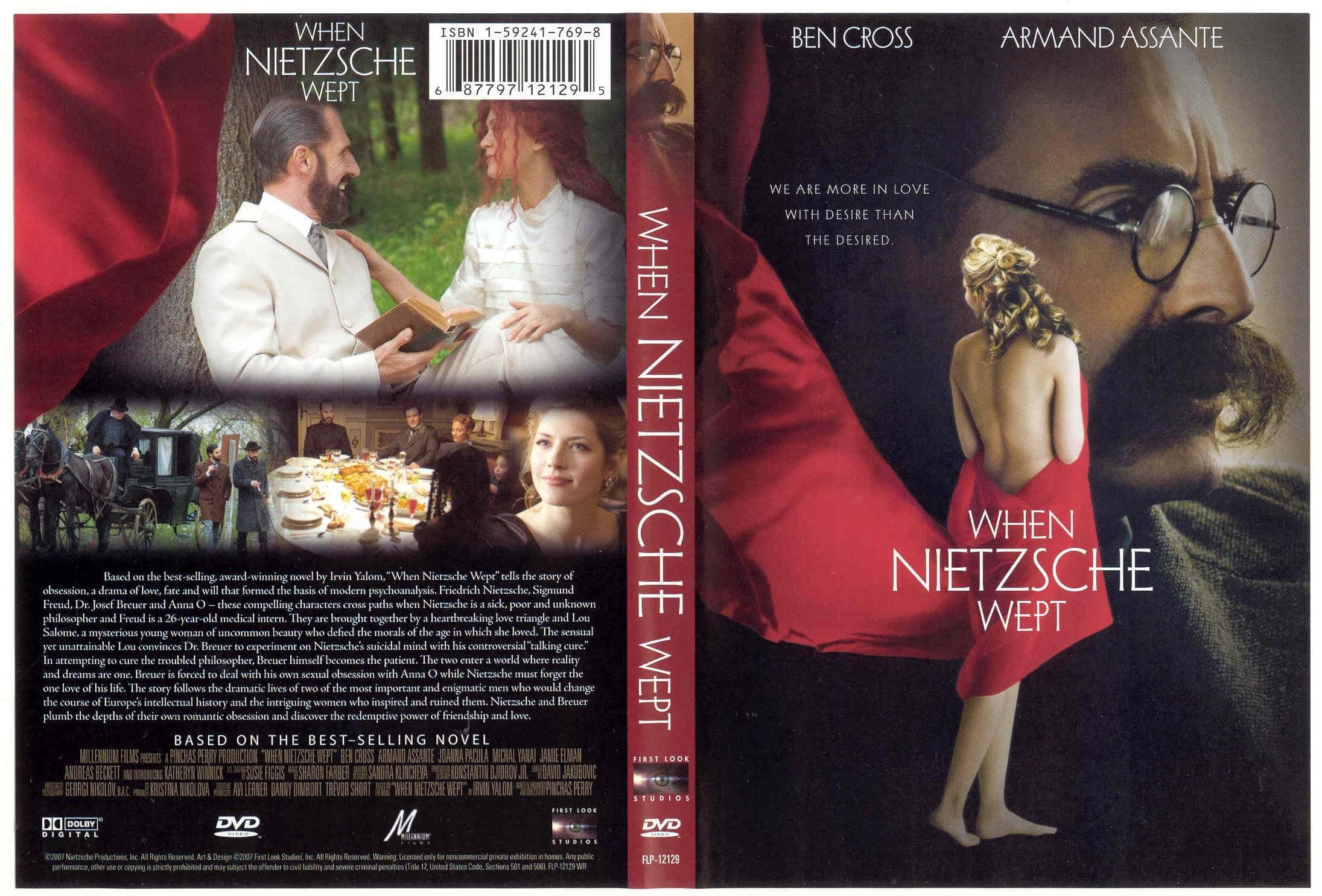"""Krótka recenzja filmowa. """"Kiedy Nietzsche szlochał"""" Pinchasa Perry'ego"""