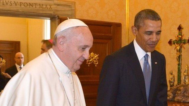 Obama na rekolekcjach w Watykanie
