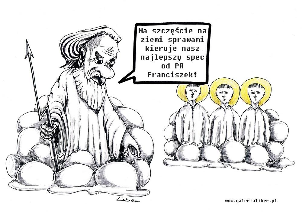 Szef PR Franciszek