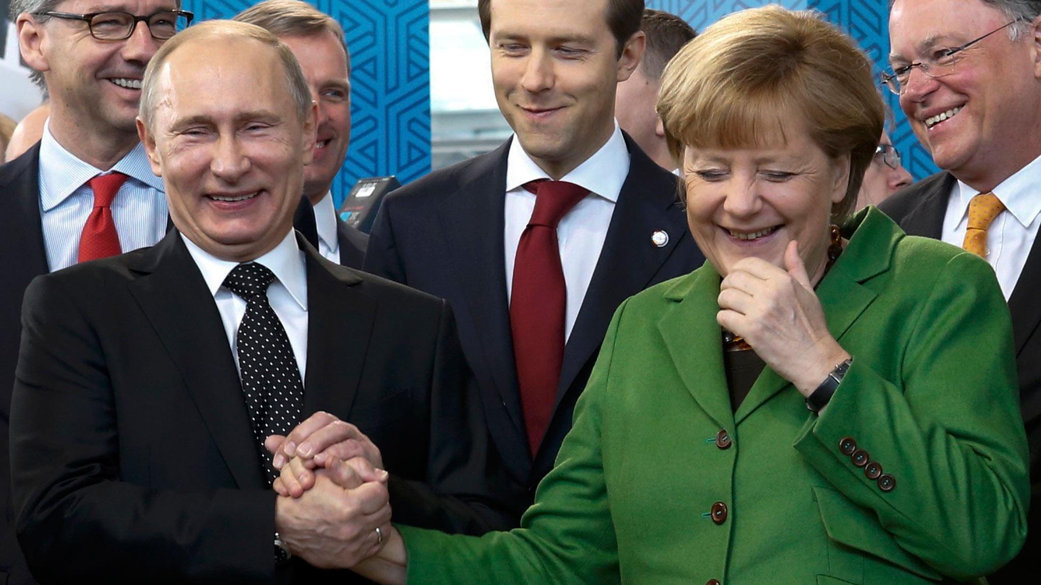 Zielone światło dla Putina czyli niemieckie interesy