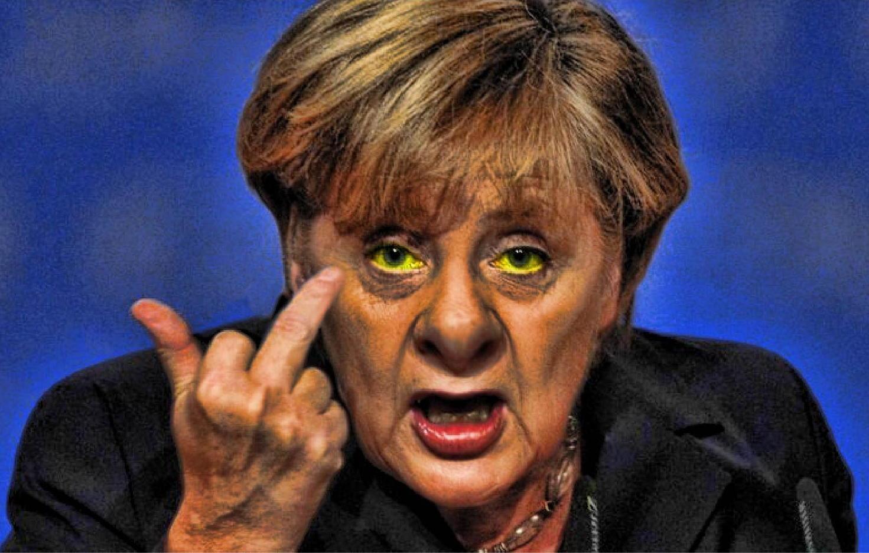 Amerykanie zrobili z Merkel polityczną idiotkę