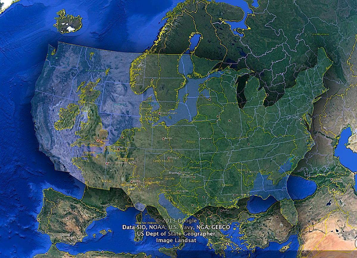 Stany Zjednoczone, Europa i Rosja