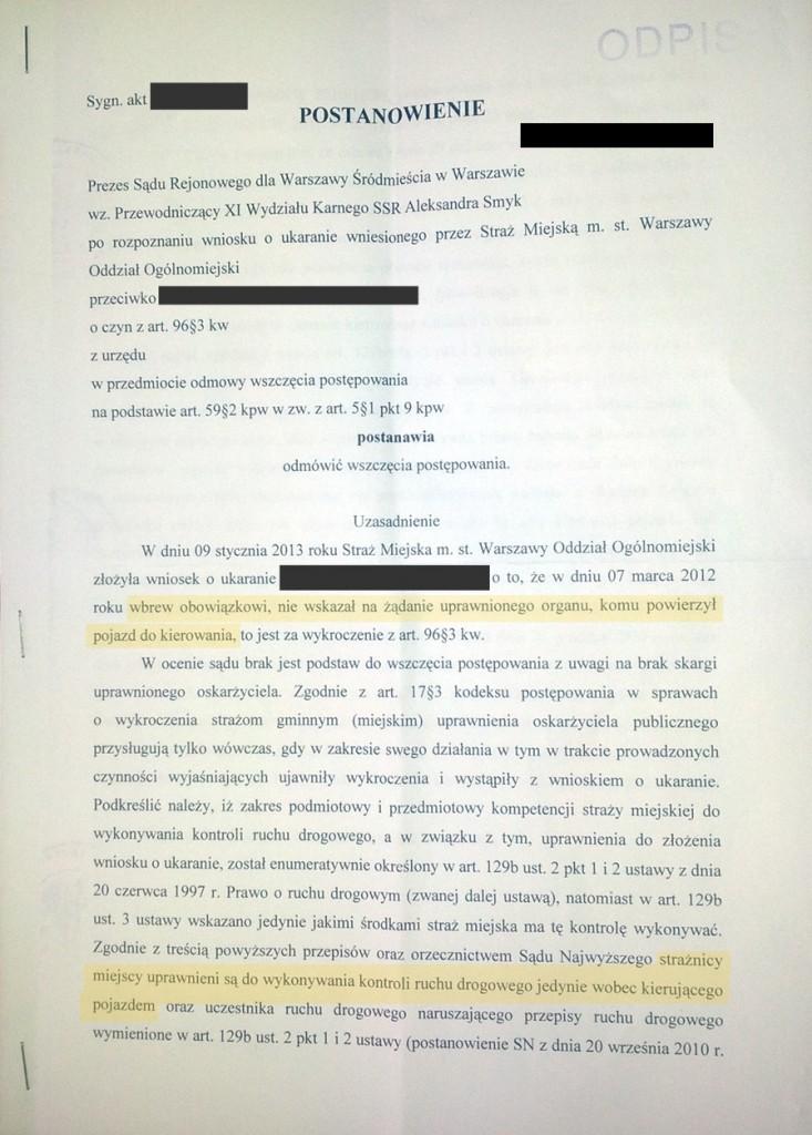 Dokument3,odmowa wszczęcia