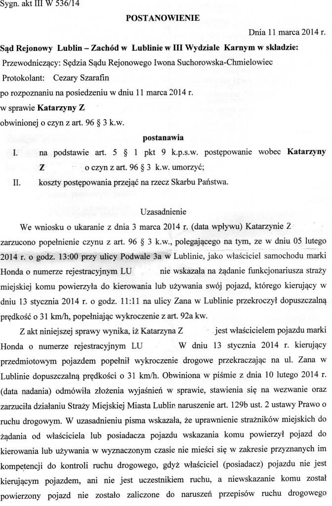 Dokument5.wyrok umorzenie str. 1a