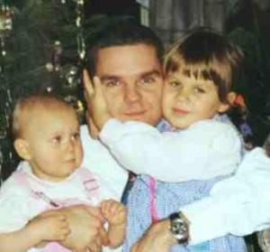 Wojciech Pomorski i córki Justyna Pomorska i Iwona-Polonia Pomorska