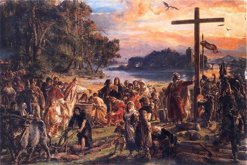 Rok 966, Chrzest Polski, czyli utrata suwerenności