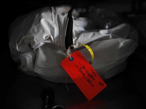 Zamrożona żywcem w szpitalnej kostnicy