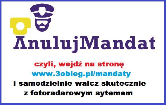 """Start projektu """"Anuluj Mandat"""" – czyli systemowa walka z systemem fotoradarów"""