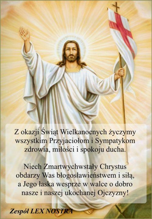 Życzenia – Wielkanoc 2014 roku.
