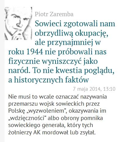 """Odpieprzcie się od ruskich pomników! albo """"prawica"""" w akcji"""