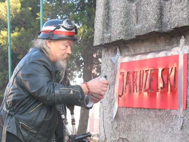 Oskarżony o pomnik: Jerzy Rojek (film!)