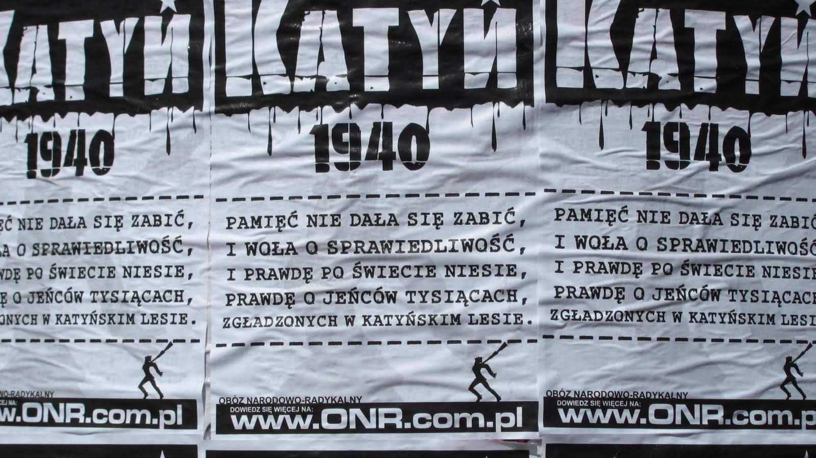 Wspomnienie o Ofiarach Katynia