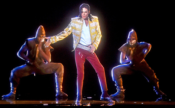Hologram Michaela Jacksona wystąpił na koncercie