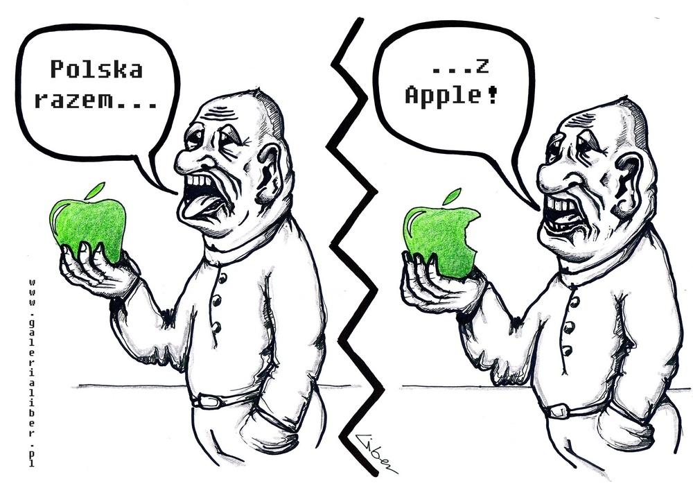 Polska z Apple