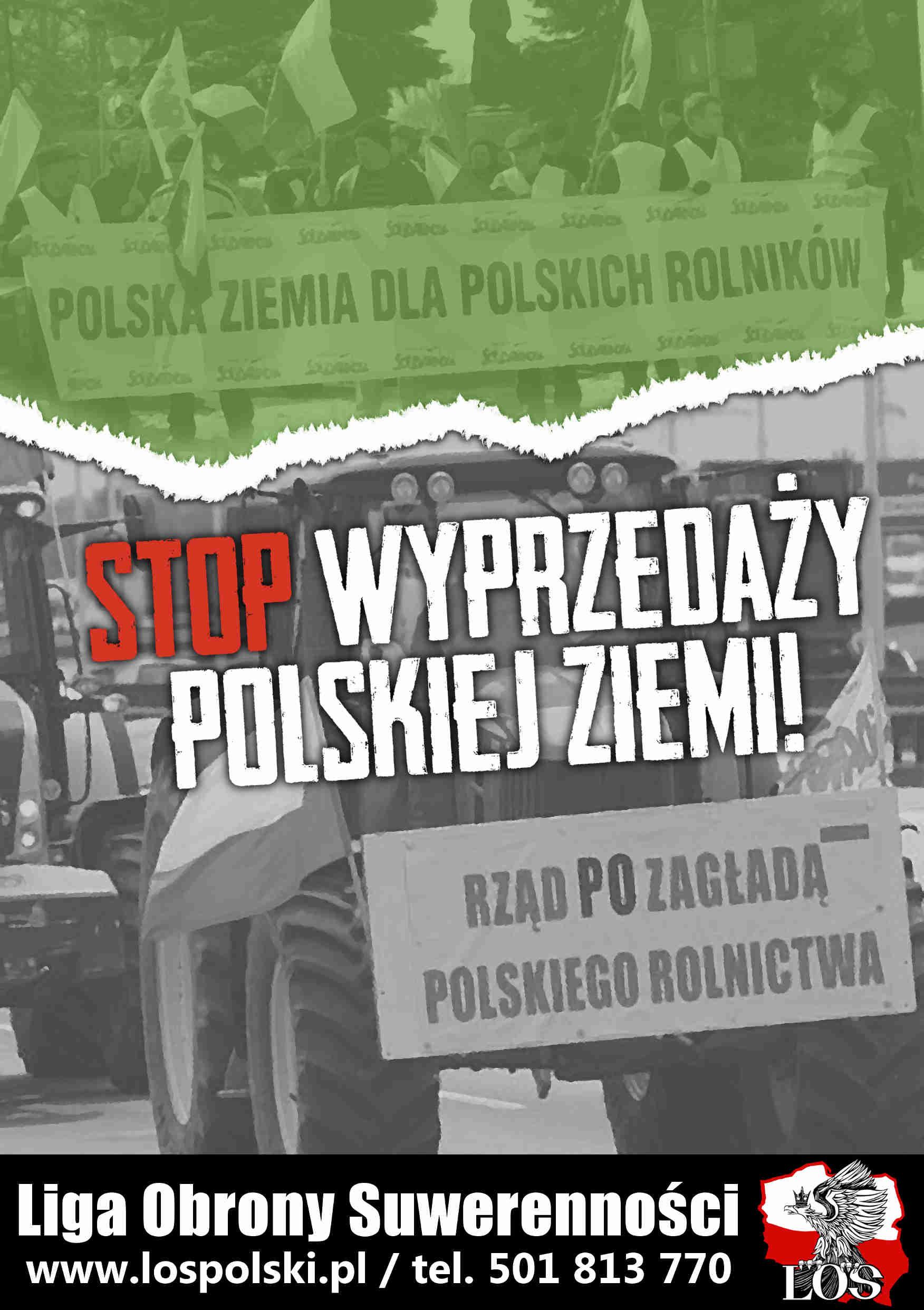 Oświadczenie LOS w sprawie wyprzedaży polskiej ziemi