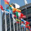 flagi przed PE
