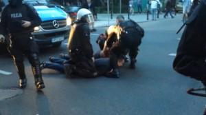 Aresztowanie liderów Ruchu Narodowego foto: screen z Youtube.com