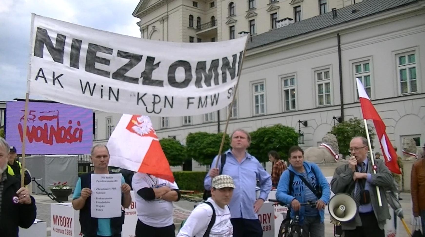 """25 lat """"wolności""""… I dosyć! Protest Niezłomnych 4 czerwca"""