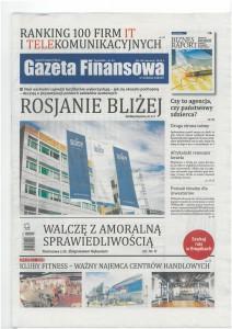 Gazeta Finansowa, Nr 25, 20-26.06.2014, okładka