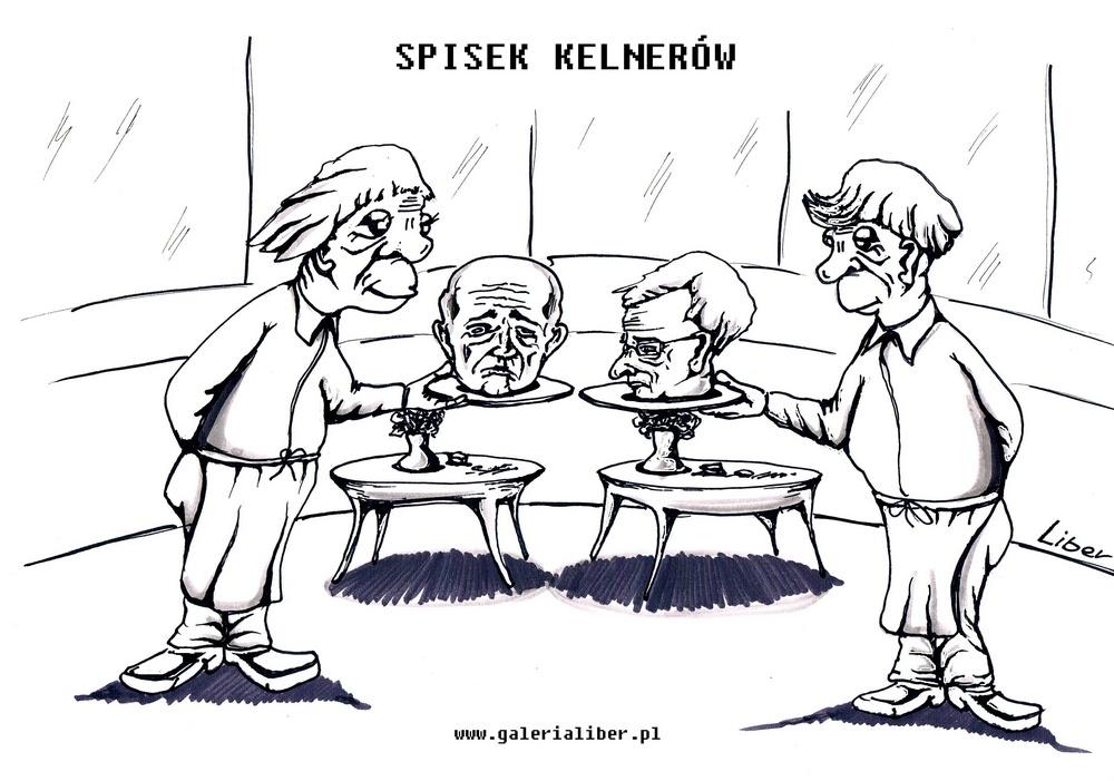 Teoria spisku…kelnerów