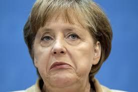 A Merkel ze spojrzeniem zbitego psa słuchała Obamy