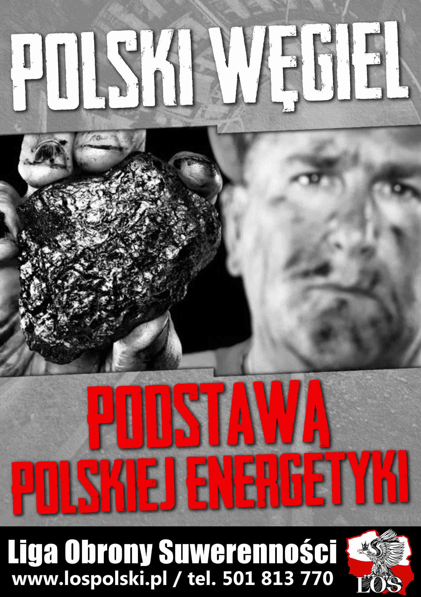 Polski węgiel podstawą polskiej energetyki!