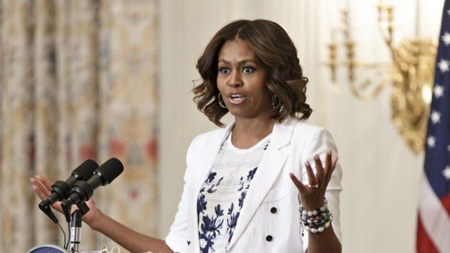 Michelle, Hipokrytka, Obama