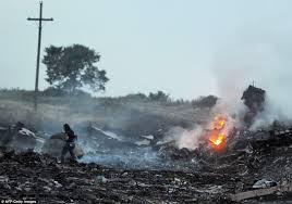 Porównaj teren katastrofy MH-17 ze Smoleńskiem