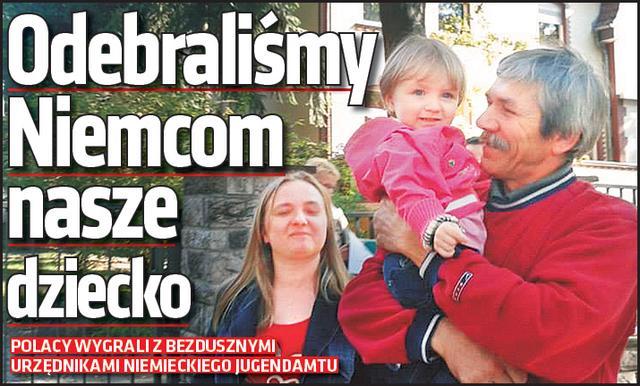 Super Express: Polscy emigranci WYGRALI z niemieckimi urzędnikami, którzy odebrali im dziecko
