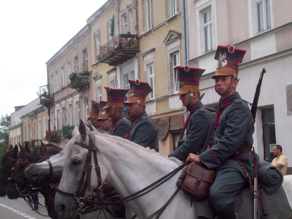 Odsłonięcie pomnika Marszałka Piłsudskiego w Kielcach
