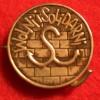 Odznaka Solidarnosci Walczacej noszona przez autora w 1983 i 84 roku