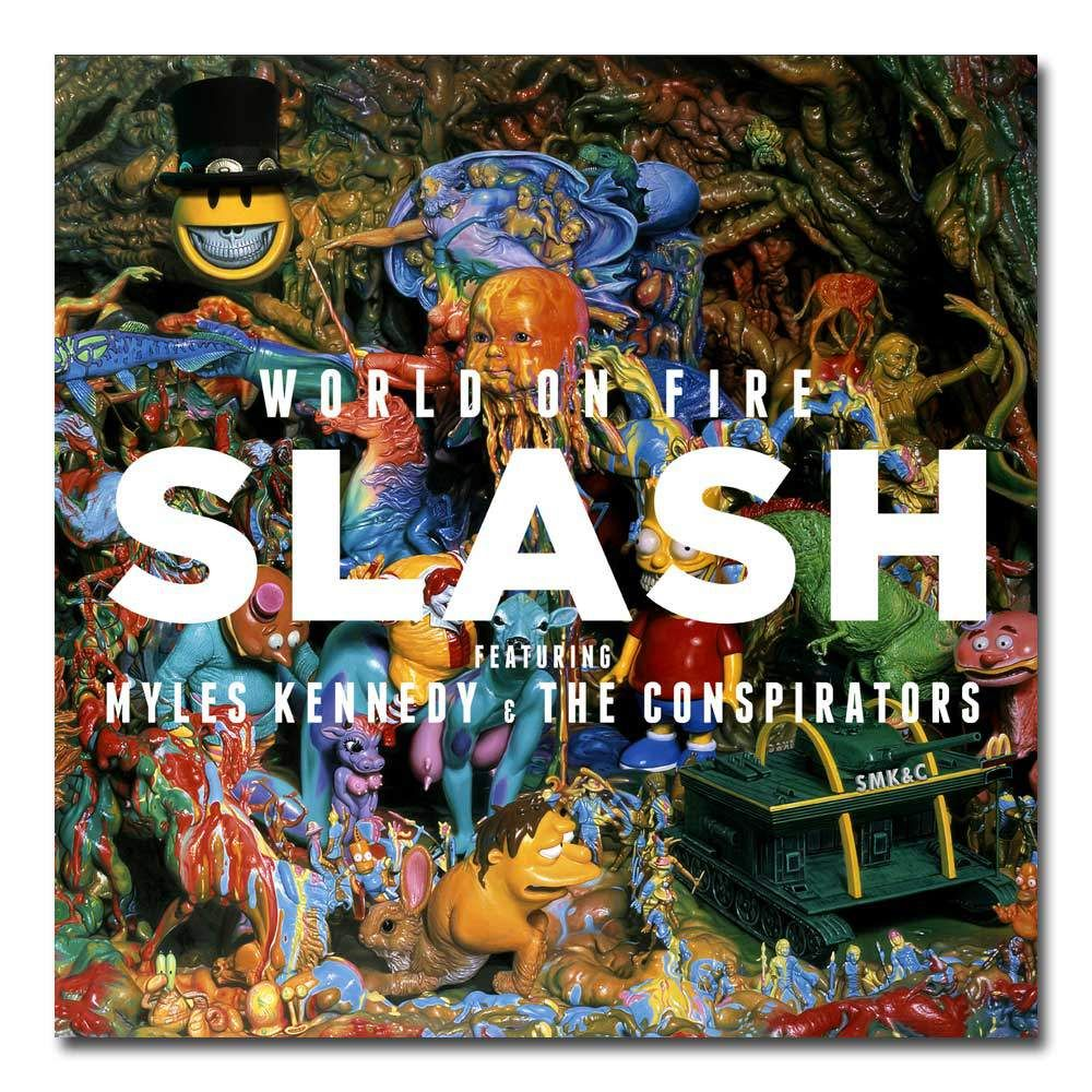 World On Fire – Slash, Myles Kennedy and the Conspirators!