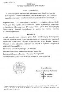 Oburzeni zarejestrowali komitet