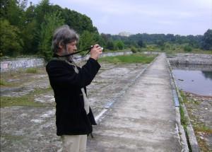 3. Red. Lech L. Przychodzki i ruiny szczecińskiego kąpieliska GONTYNKA