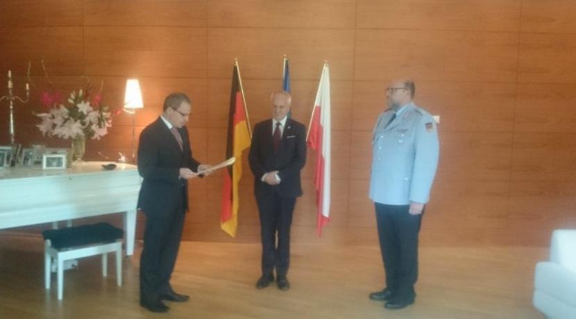 Niesiołowski zasłużony dla Bundeswehry