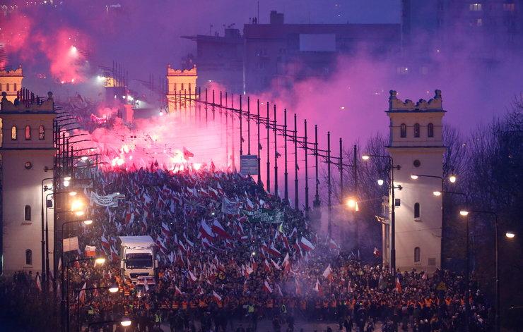 Marsz Niepodległości – nagły krach spiskowej praktyki świata?