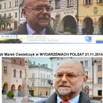 dr Ciesielczyk w TVN i POLSAT